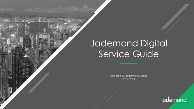 Credentials Jademond